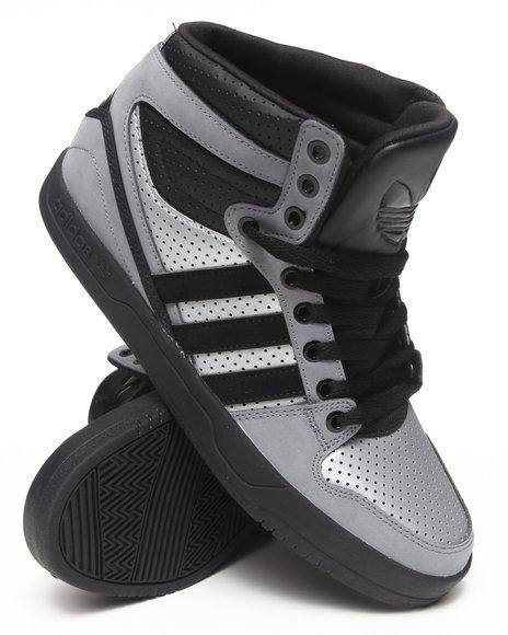 Adidas Silver,Grey Court Attitude Sneakers