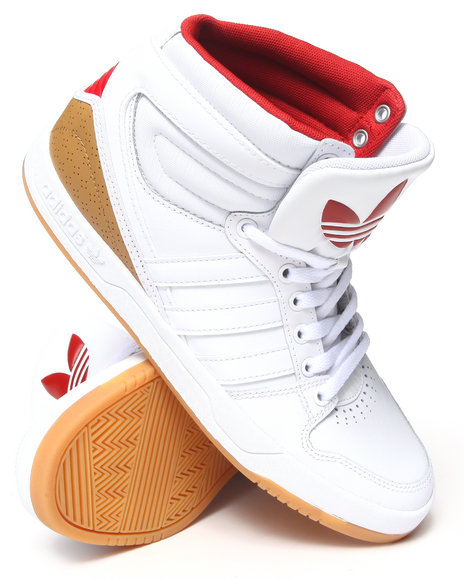 Adidas White Court Attitude Sneakers