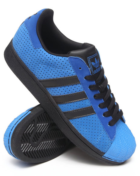 Adidas - Men Blue Superstar 2 Sneakers