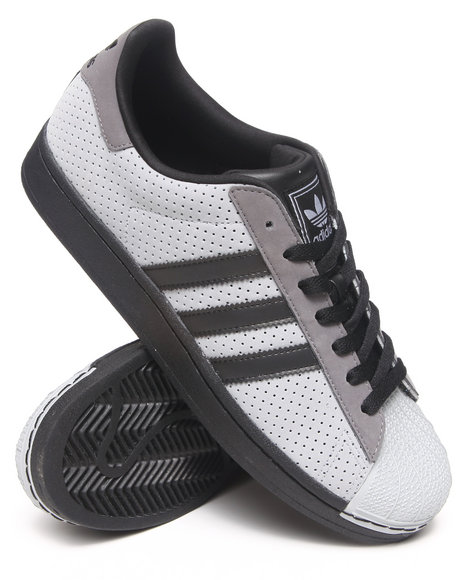 Adidas - Men Grey Superstar 2 Sneakers