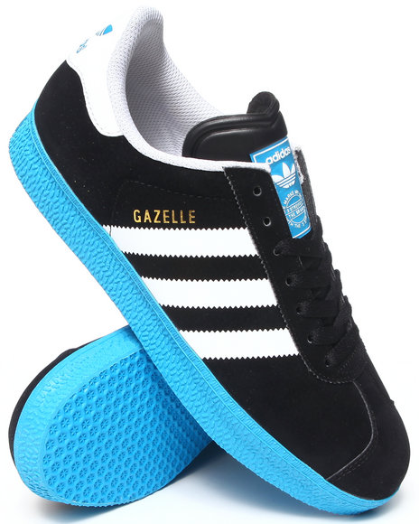 Adidas - Men Black,Blue,White Gazelle 2 Sneakers