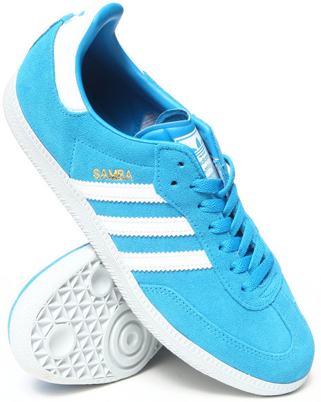 Adidas - Men Blue Samba Sneakers - $46.99