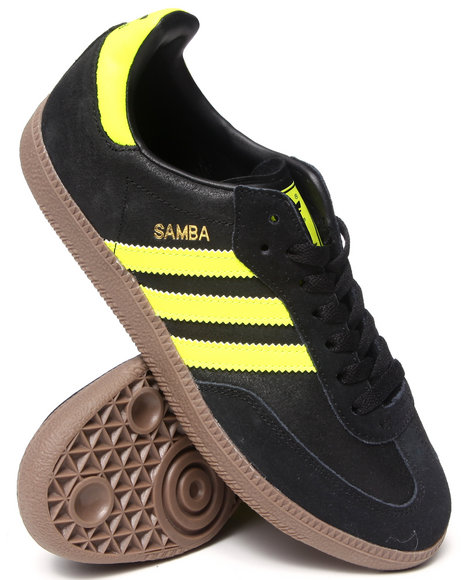 Adidas - Men Black Samba Sneakers