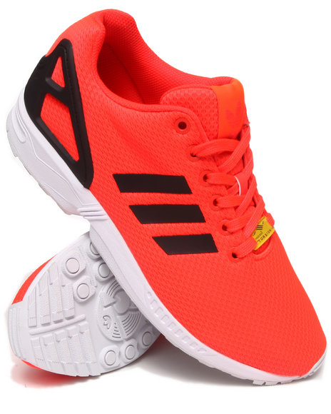 Adidas Red Zx Flux Sneakers
