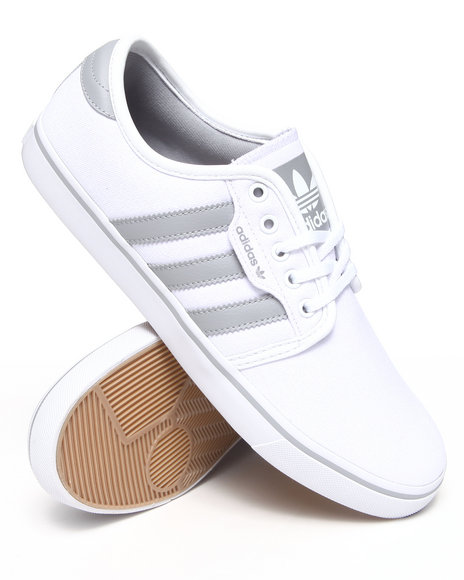 Adidas White Seeley Sneakers