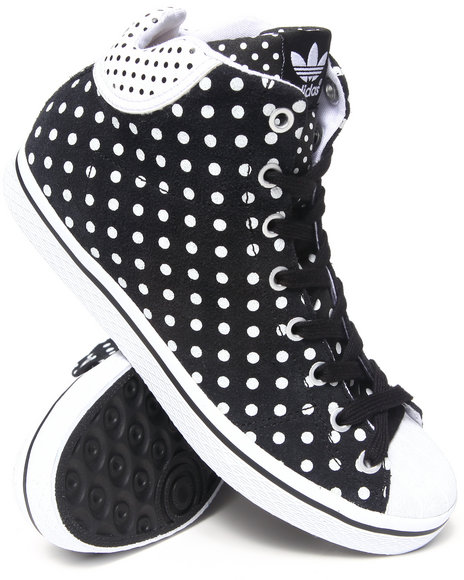 Adidas - Women Black Vulc Star Mid W Sneakers