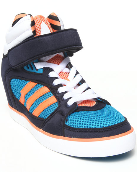 Adidas - Women Blue Amberlight Up W Wedge Sneakers
