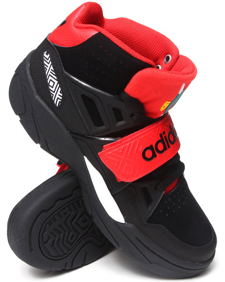 Adidas Black,Red Mutombo Tr Block Sneakers