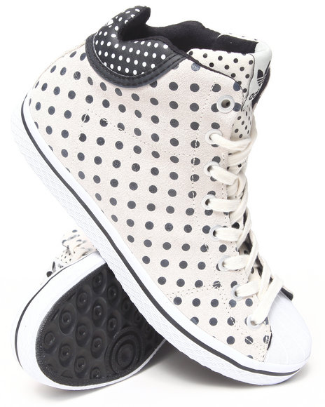 Adidas - Women White Vulc Star Mid W Sneakers