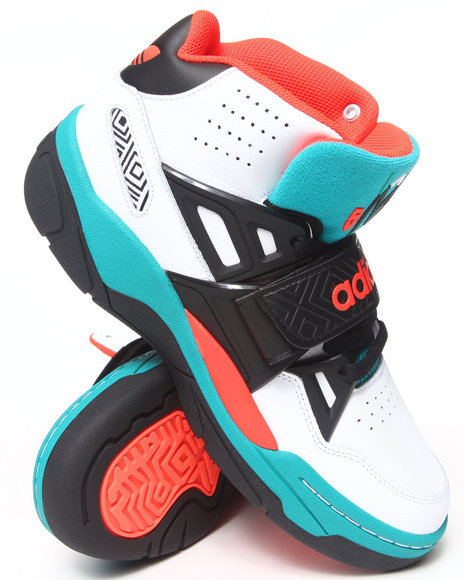 Adidas Black,Green,White Mutombo Tr Block Sneakers