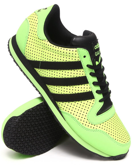 Adidas - Men Green Galaxy Sneakers - $49.99