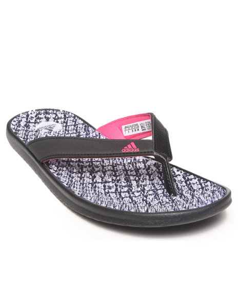 Adidas Black Adissage Thong W Graphic Sandals