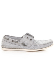 Shoes - Schooner Coated Linen Laceless Boat Shoe