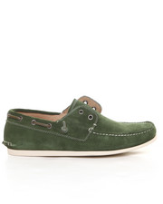 Shoes - Schooner Perf Suede Laceless Boat Shoe