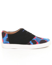 Shoes - Davis Blue Leopard Sneaker