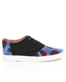 Men - Davis Blue Leopard Sneaker