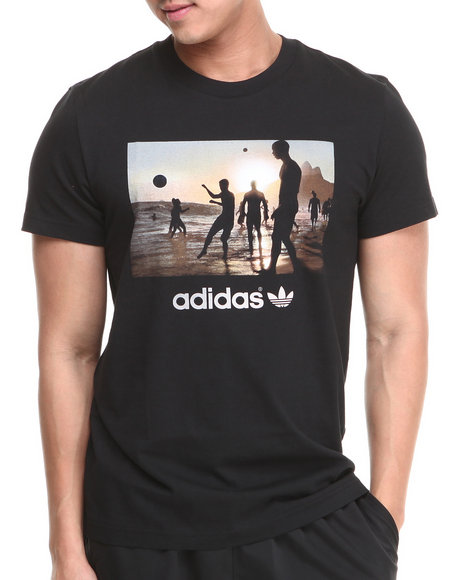 Adidas Black Bruna Beach Tee