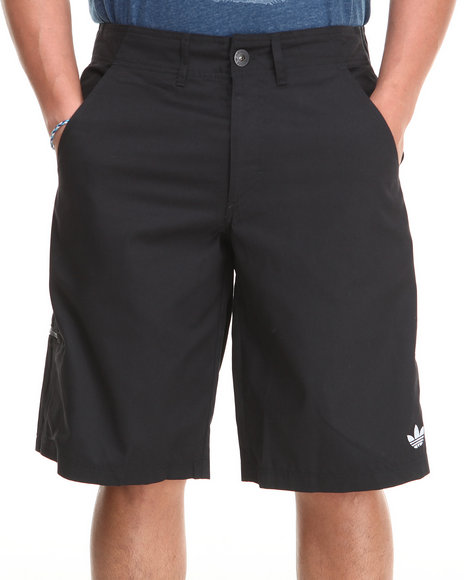Adidas Black 3 Stripes Clean Shorts