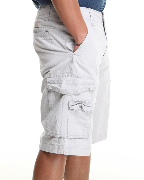 Nautica - Men Grey Nautica Cargo Short