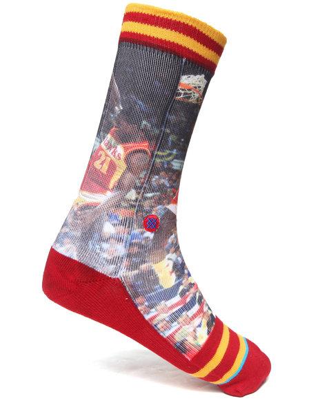 Stance Socks Dominique Wilkins Socks Multi Large/X-Large