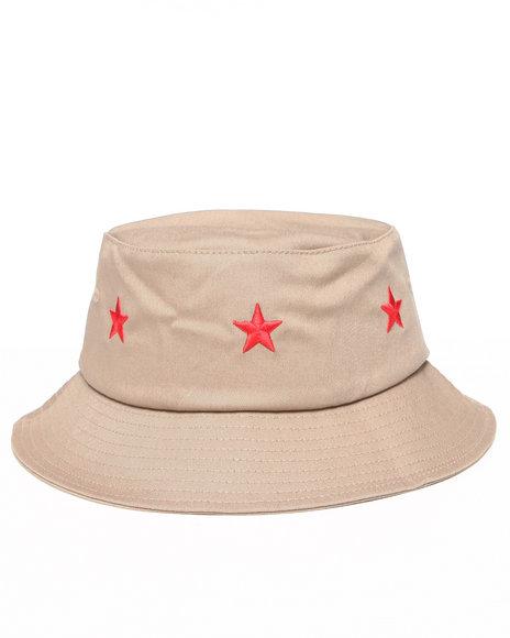 Clsc Stars Bucket Hat Khaki