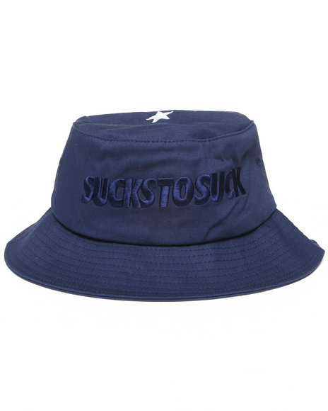Clsc S T S Bucket Hat Navy