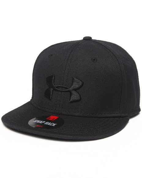 Under Armour Stealth Snapback Hat Black