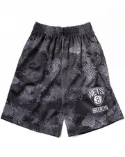 NBA MLB NFL Gear - Brooklyn Nets Digi Camo Shorts (8-20)