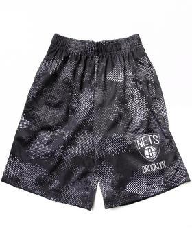 NBA MLB NFL Gear - Brooklyn Nets Digi Camo Shorts (8-20)