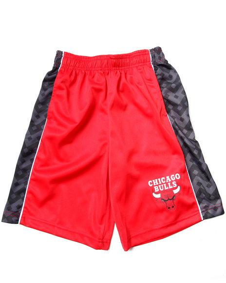 NBA MLB NFL Gear Boys Black Chicago Bulls Digi Camo Shorts (8-20)