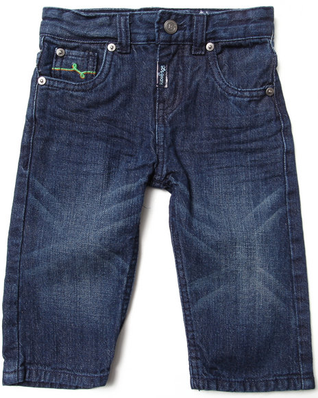 LRG - Boys Dark Wash State Of The Art Straight Jeans (Infant)