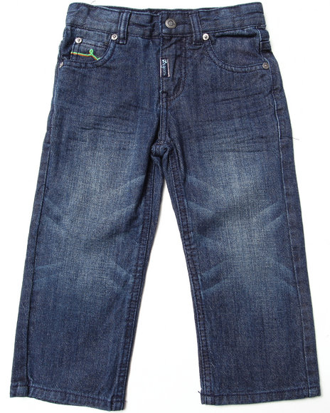 LRG - Boys Dark Wash State Of The Art Straight Jeans (2T-4T)