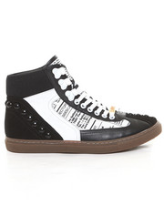 Shoes - Martina Newsprint Hightop
