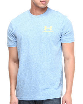 Under Armour - Legacy Logo Tee  (Moisture Transport & Anti-Odor Technology)