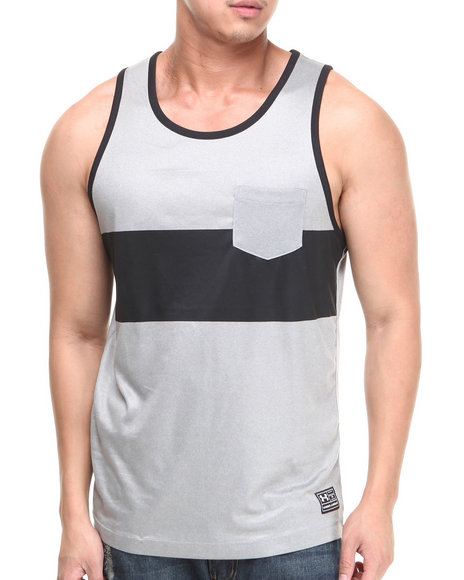 Under Armour Black Hut 1 Tank Top (Loose Fit)