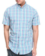 Button-downs - Medium Plaid S/S Button-Down