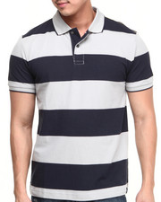 Men - Rugby Stripe Polo