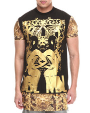 T-Shirts - Golden Goon Long Hem Tee