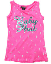 Baby Phat - ALL-OVER KITTY TANK (7-16)