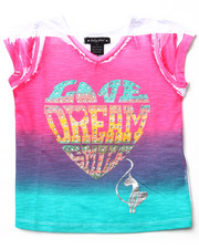 Baby Phat - LOVE DREAM OMBRE TEE (4-6X)