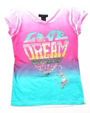 Baby Phat - LOVE DREAM OMBRE TEE (7-16)