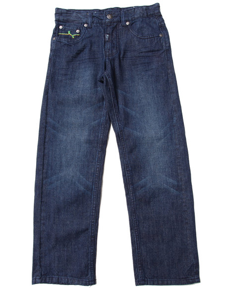 LRG - Boys Dark Wash State Of The Art Straight Jeans (8-20)