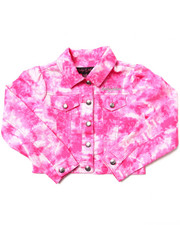 Girls - TIE DYE PRINT JACKET (7-16)