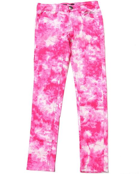 Baby Phat Girls Pink Tie Dye Print Jeans (7-16)