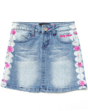 Baby Phat - EMBROIDERED DENIM SKIRT (7-16)