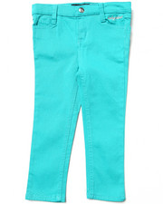 Girls - COLOR TWILL JEANS (2T-4T)