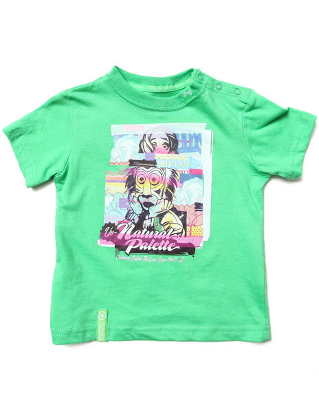 Lrg - Boys Green Outside The Lines Tee (Infant)