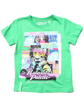 LRG - OUTSIDE THE LINES TEE (4-7)