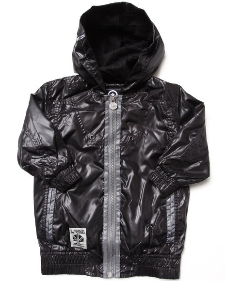 LRG - Boys Black L-R-Tek Knowledge Jacket (2T-4T)