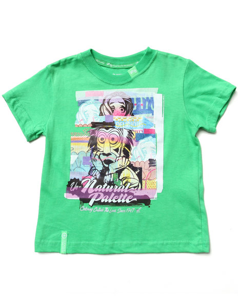 LRG Boys Green Outside The Lines Tee (2T-4T)